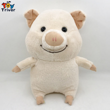 цены на Kawaii Pig Plush Toy Triver Stuffed Pink Pigs Doll Baby Kids Children Birthday Gift Home Shop Decor Drop Shipping  в интернет-магазинах
