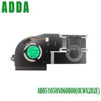 Laptop fan for AB05105HX060B00(0CWX202E) EF50050S1 C170 S99 Laptop fan DC5V 2.25A radiator