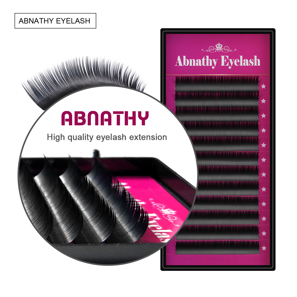 Charming Lashes 10PCS / LOT J / B / C / D / L Curl 8-14mm - Makeup