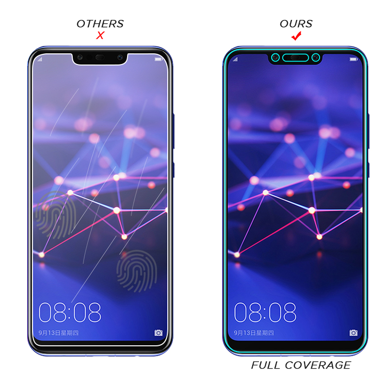 Image 2 - Tempered Glass For Huawei Mate 20 10 Lite P10 P20 Lite Pro P Smart Screen Protector For Huawei Honor 9 8 Lite Nova 3 3i-in Phone Screen Protectors from Cellphones & Telecommunications