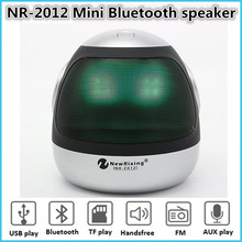 NewRixing NR-2012 Mini Bluetooth speaker Portable Wireless speaker Home Theater Party Speaker Sound System 3D stereo Music