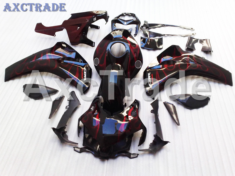 Motorcycle Fairings For Honda CBR1000RR CBR1000 CBR 1000 RR 2008 2009 2010 2011 ABS Plastic Injection Fairing Bodywork Kit Flame for honda cbr600rr 2007 2008 2009 2010 2011 2012 motorbike seat cover cbr 600 rr motorcycle red fairing rear sear cowl cover