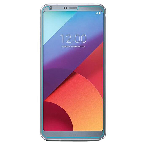 HFES New Screen Protector Tempered Glass / 2 Pack / 9H Hardness / Case Friendly for LG G6