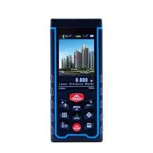 SNDWAY Telémetro Láser medidor de Distancia 80 M 120 M W-TFT W-cámara al aire libre LCD Telémetro cinta métrica + recargable batería