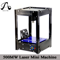 ICROATO CNC Machine 500MW 38mmX38mm Mini CNC Router Laser Cutter DIY CNC Laser Engraving Machine