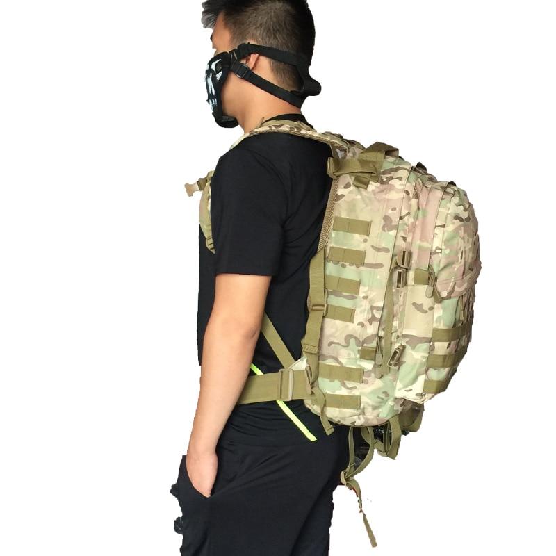 3D Açıq İdman Hərbi Taktik Tırmanma Alpinist Sırt Kamp Kamp - İdman çantaları - Fotoqrafiya 6