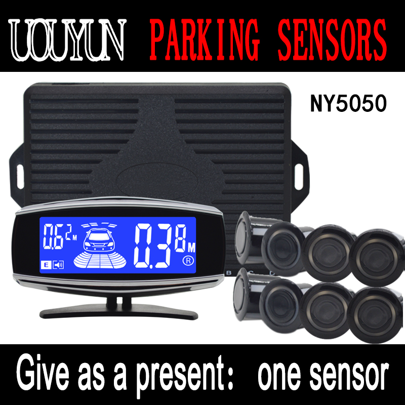8/sensors NY5050  car electronics cars parking assistance reversing radar car detector parking assistance Car Parking Sensor