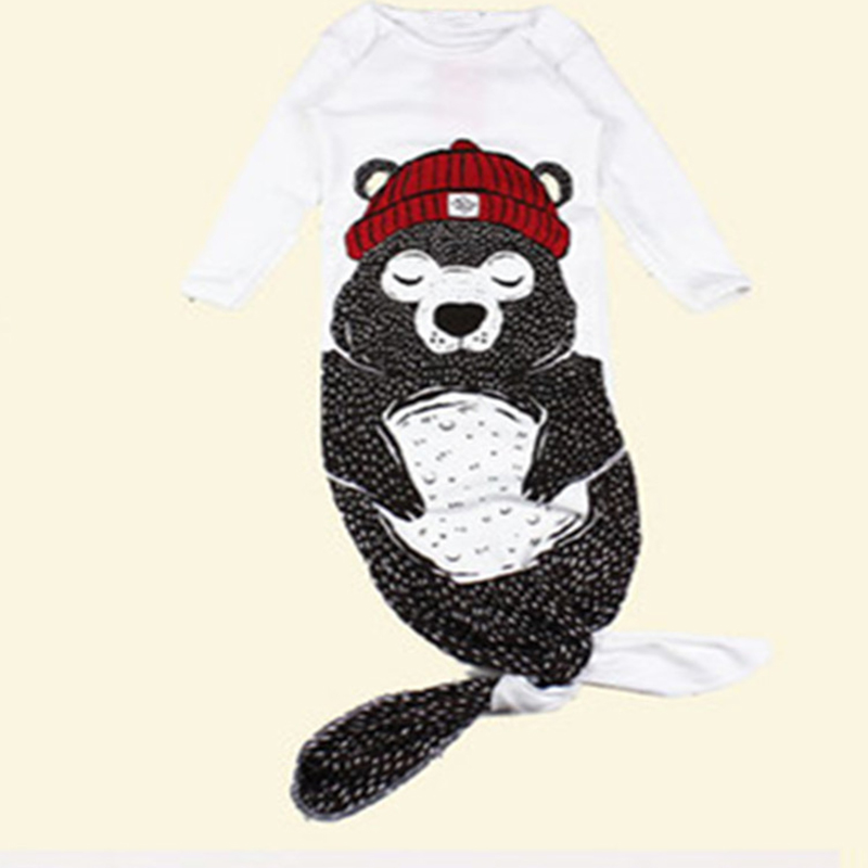 New-Baby-Sleeping-Bag-PenguinBearSharkMermaid-Pattern-Infant-BoyGirls-Autumn-Spring-Long-Sleeve-Sleeping-Bags-FJ88-4