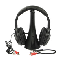 5 In 1 Professional Wireless Headphone More Reliable Computer PC Home Use Anti-Interference Headset