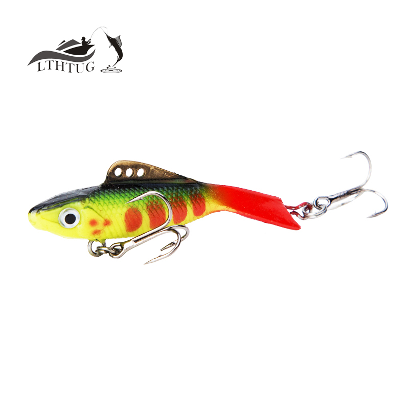 new 2017 vantage balance vib ice fishing lure wobber pesca