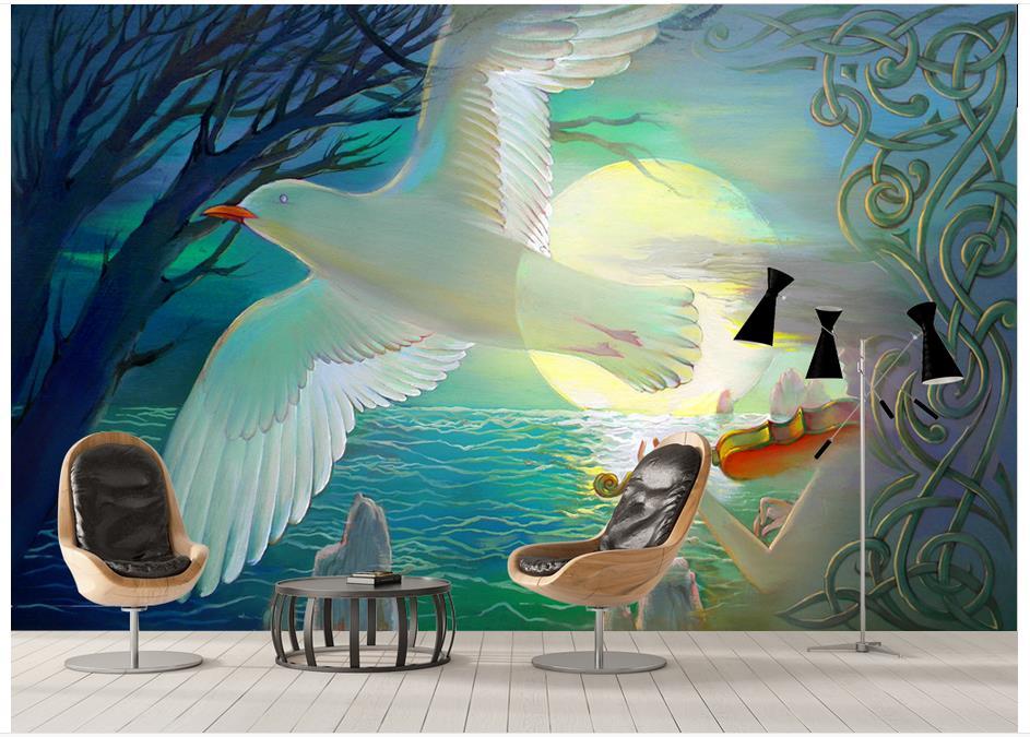 ⑥3D foto papel pintado personalizado 3D murales papel pintado para ...