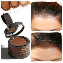 Hair 3 Color Fluffy Thin Hair Powder Hair Line Shadow Makeup Concealer Root Cove