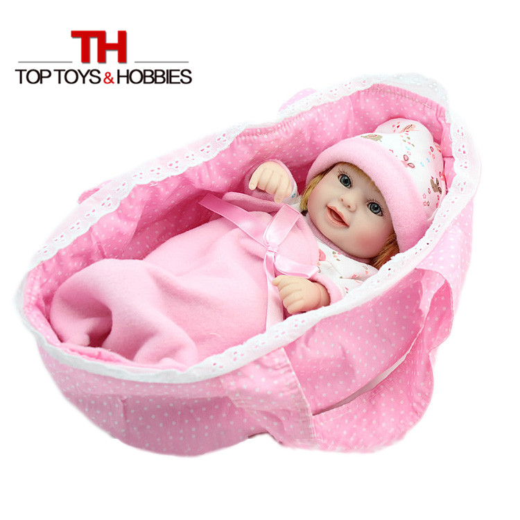 Npkdoll Кукла реборн для маленьких девочек реалистичные Куклы новорожденных Игрушки мягкие силиконовые возрождается Куклы дети подарок на Но...