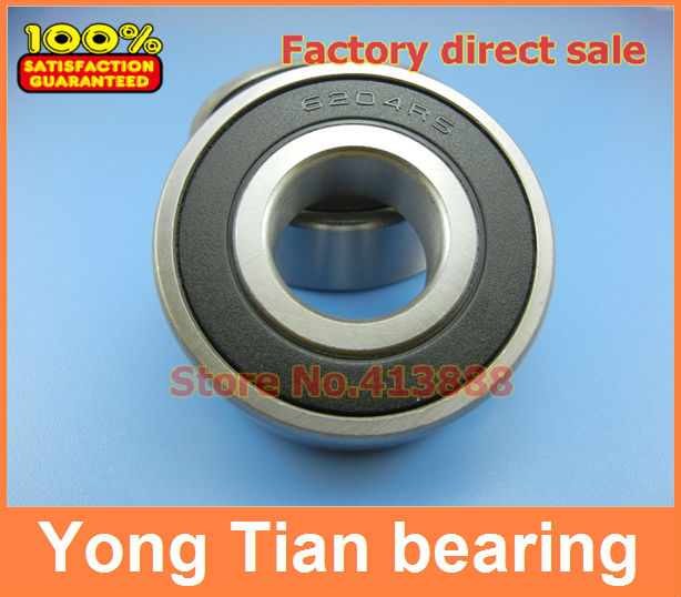 High quality non-standard special bearings 6204/10-2RS 6204-5/8 RS1 15.875*47*14mm цена 2017