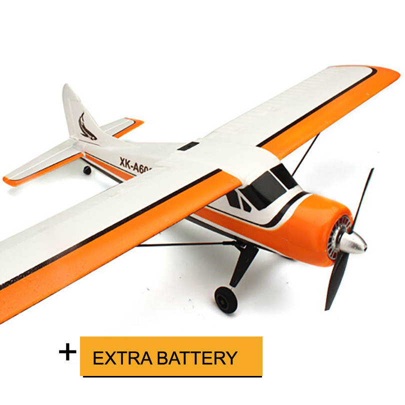 XK A600 4CH 3D6G System Brushless RC Airplane RTF 2.4GHz RC Fix-wing drone original xk dhc 2 a600 2 4ghz 6ch transmitter for xk a600 a700 a430 rc airplane drone