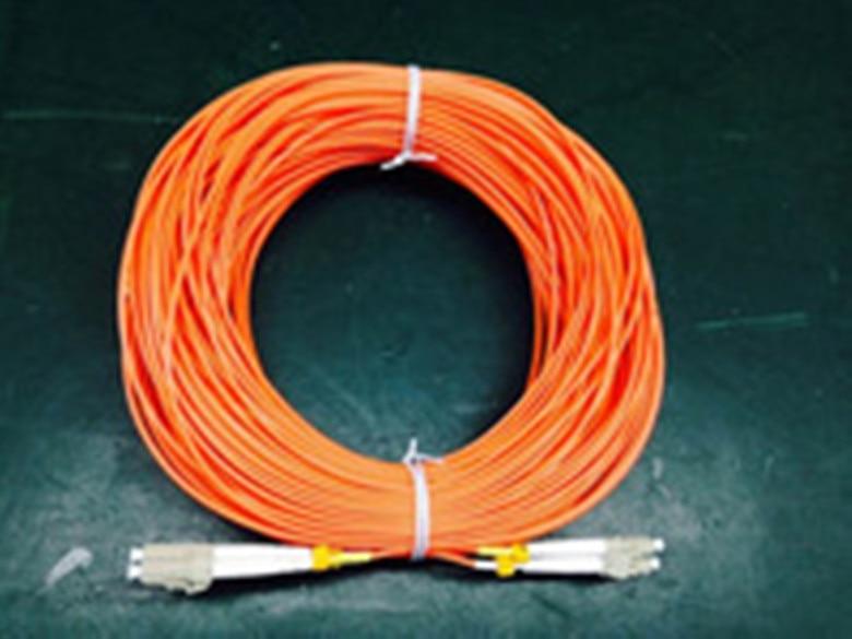 Free Shipping Fiber Optic Patch Cord LC/UPC-LC/UPC Multi-mode MM Duplex fiber Jumper 62.5/125um 2.0mm 50 Meters