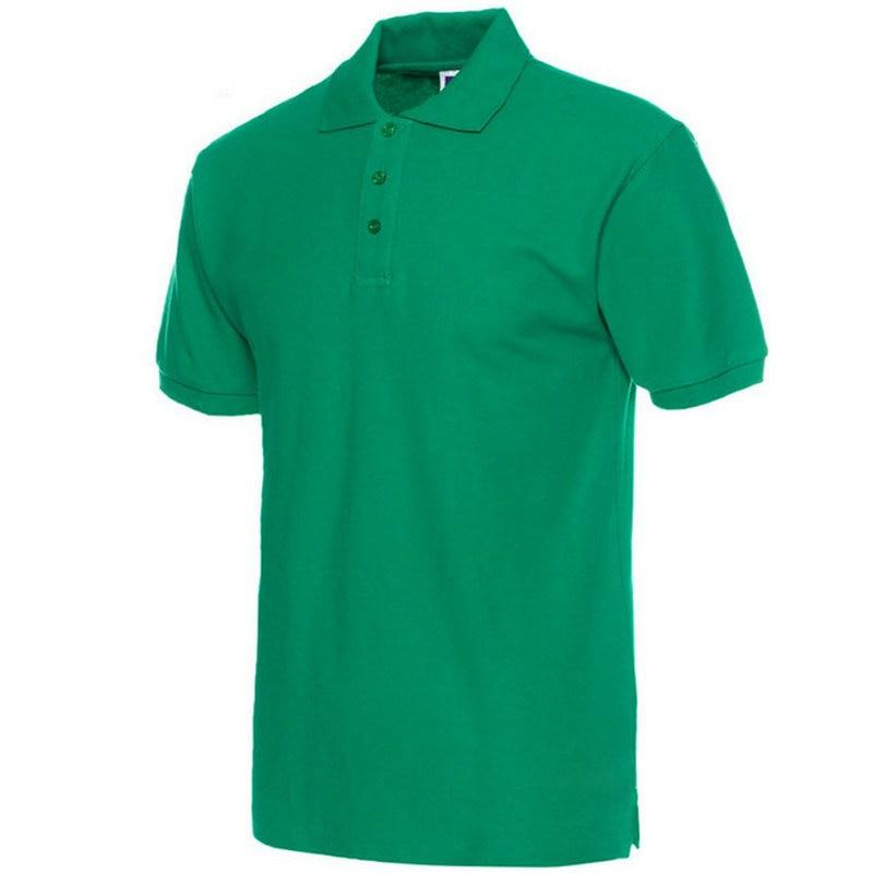 Moške polo majice, moške polne barve, polo majice Camisa Masculina, - Moška oblačila - Fotografija 3