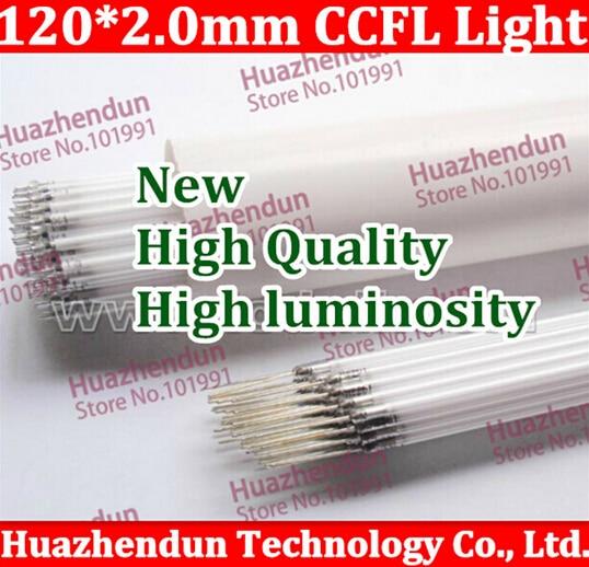 100pcs/lot New High quality Free shipping Supper Light CCFL 120 * 2.0 mm, LCD Backlight Lamp High quality 120MM 10pcs