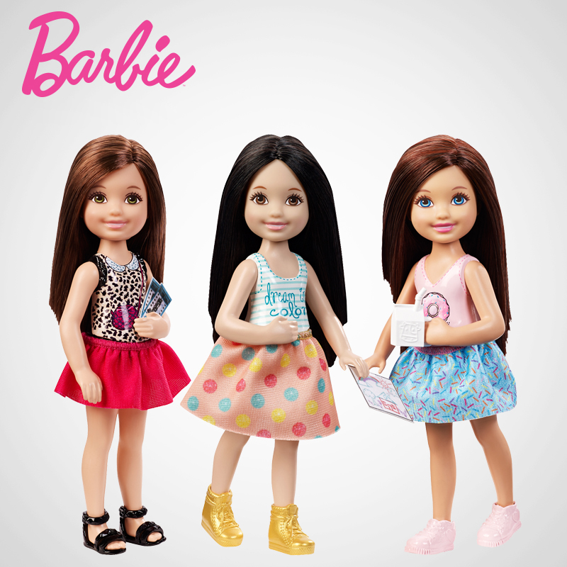 little girls and barbies 'the barbie project' shows how little girls really  the message the doll sends little girls  the way little girls actually play with barbies.