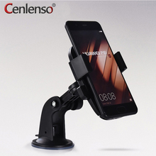 Cenlenso Universal Car Windshield Mobile Phone Holder Bracket With Locking Suction Mount For oneplus 5 For xiaomi redmi note 4x