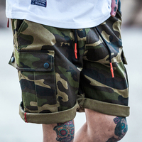 Streetwear Camouflage Cargo Shorts Men New Mens Casual Shorts Male Loose Work Shorts Man Military Short Pants Plus Size