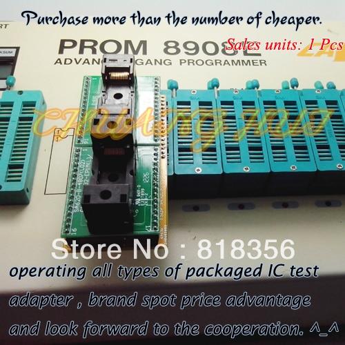 PROM8908E Programmer Adapter TSOP32-DIP32 Adapter Test Socket/IC Socket Size: 20/18.4mm emcp fbga221 usb test aging test board emcp221 programmer adapter reader test socket size 12 16 development board free shipping