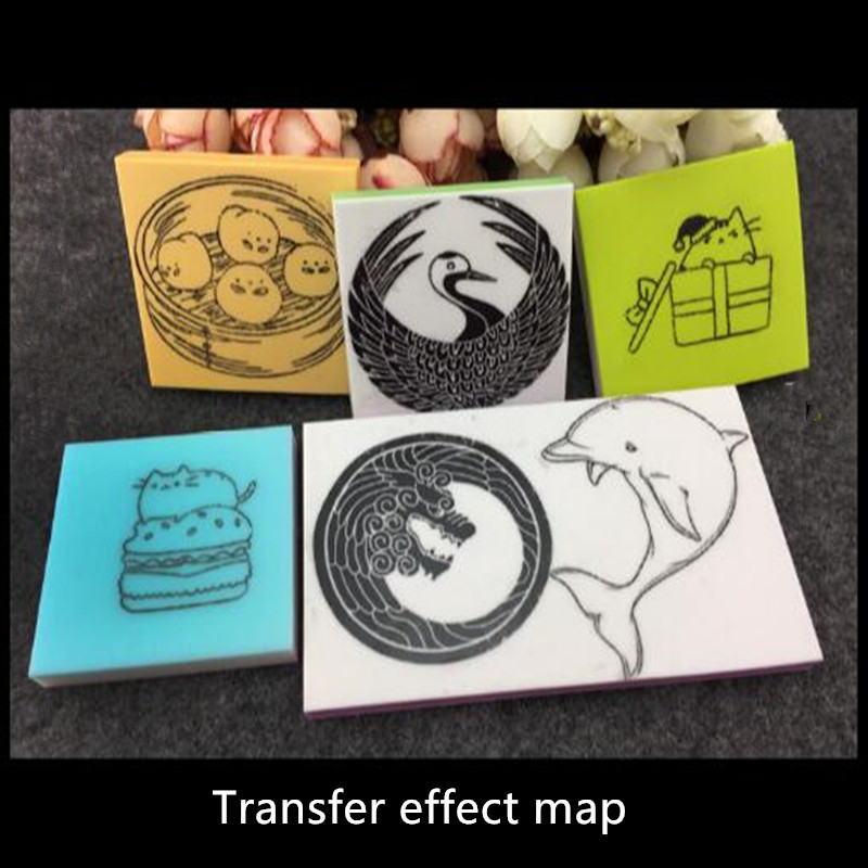 Free shipping a box of about 32pcs rubber stamp transfer towel handmade rubber pants laser transfer can be wiped easy to carry survival of local knowledge about management of natural resources
