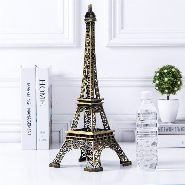 Bronze Eiffel Tower Decor zinc alloy Metal Home Decoration Improvement Gift 3