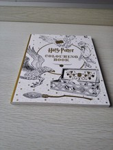 Harry Potter Coloring Book ; books for Children adult secret garden Series Kill Time Painting Drawing Books(China (Mainland))