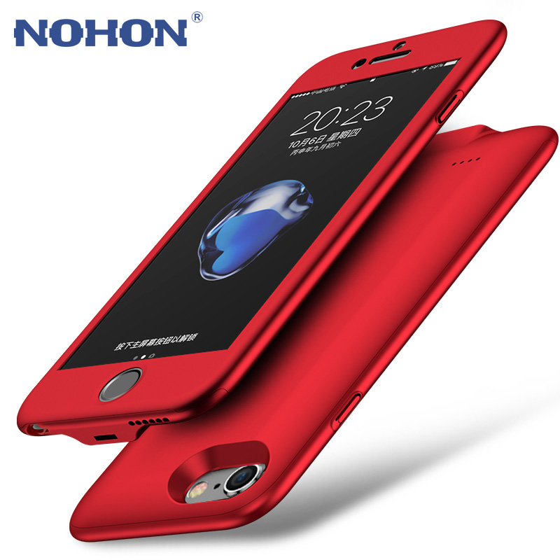 US $19.71 31% OFF NOHON Wireless Power Bank Charger Battery Case For iPhone 6 6S Plus 6Plus 2500mAh External Portable Backup Battery Case Cover case