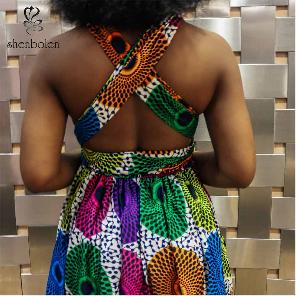 Shenbolen African Dresses for Women Traditional african clothing african fashion dress Dashiki dress african Party dresses