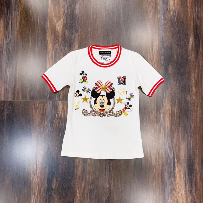 52a109f11591ea Cheap T-Shirts, Buy Directly from China Suppliers:Ladies cotton T-shirt