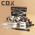 CBX G8 2.5 дюйм(ов) Мини WST Bi xenon HID Объектив Проектора Ксенона балласт Ксеноновые Лампы CCFL Ангел Глаз Halo для Фар Автомобиля Полный Набор
