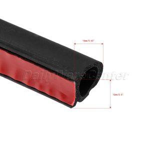 Image 4 - 8 מטרים גדול D צורת רכב דלת חלון רצועת איטום EPDM גומי רעש בידוד נגד אבק לרעש רצועת חותם עבור מנוע תא מטען