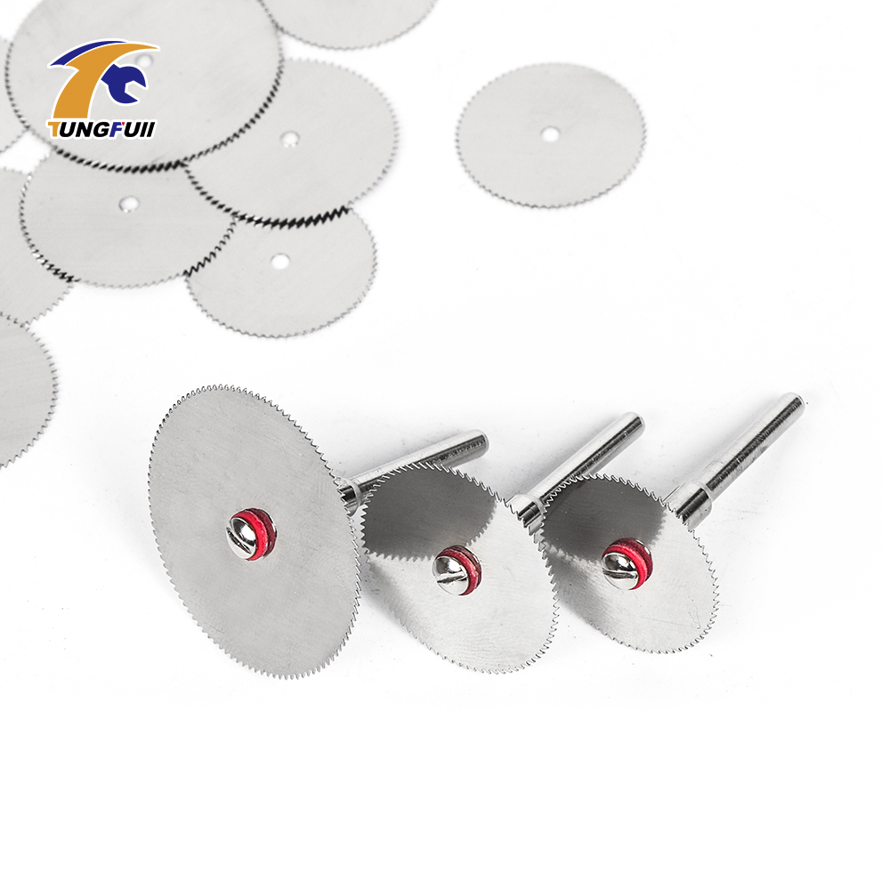 Cutting Discs Rotary Tool 22mm 25mm 32mm Saw Blade For Wood Cutting DIY Cut Off Wheel Disc Dremel Accessories Mini Drill