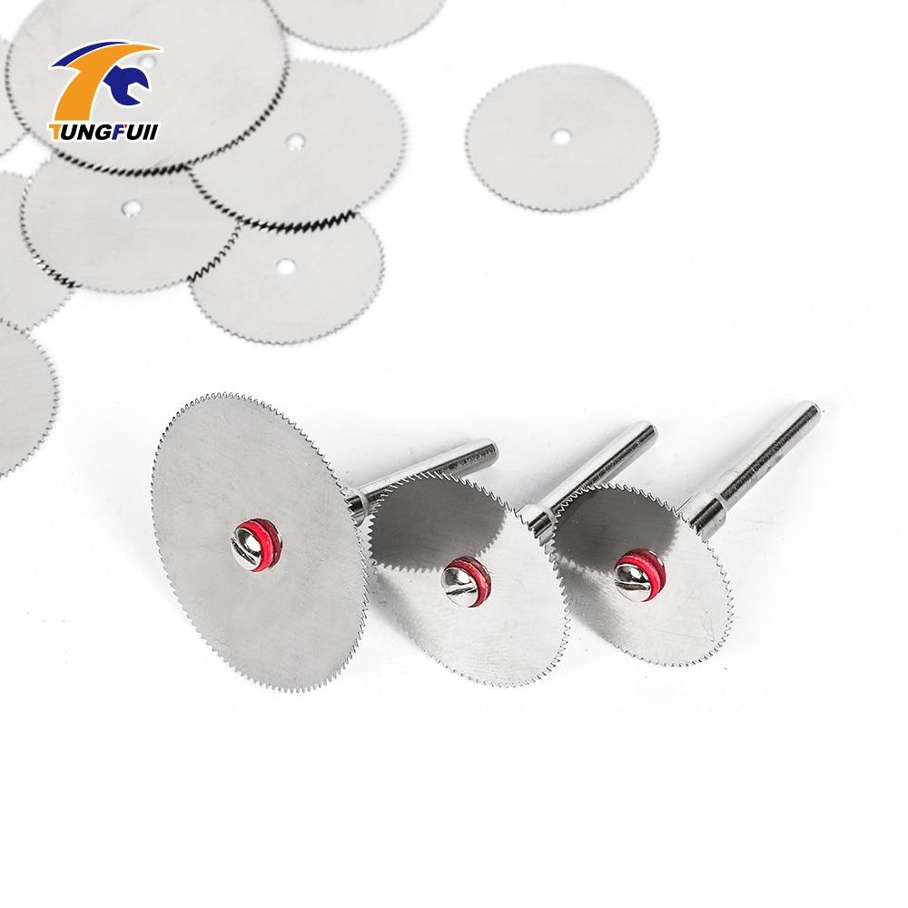 Cutting Discs Rotary Tool 22mm 25mm 32mm Saw Blade For Wood Cutting DIY Cut Off Wheel Disc Dremel Accessories Mini Drill