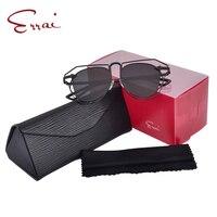 ERRAI Hot Sale Fashion Women Metal Sunglasses Polarized Round Frame Hollow Eyewear Gafas Mujer 00099