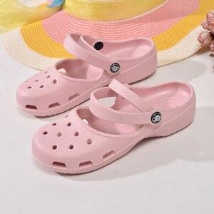 Image 3 - ใหม่มาถึงผู้หญิงน้ำหนักเบารองเท้าแตะฤดูร้อนราคาถูกMULE Clogsผู้หญิงหญิงรองเท้าสวนพยาบาลทำงานรองเท้าแตะรองเท้า