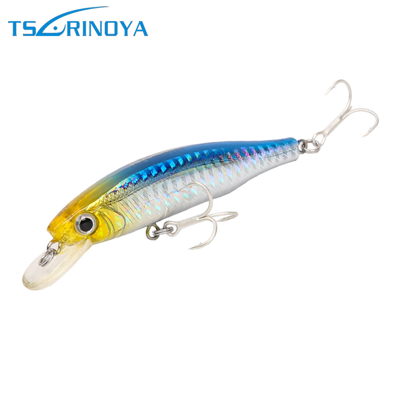 Trulinoya 1PC DW19 Fishing Lure Minnow Wobbler 85mm 14g Artificial Plastic Hard Lure Running Depth 1M Fishing Bait 30pcs set fishing lure kit hard spoon metal frog minnow jig head fishing artificial baits tackle accessories