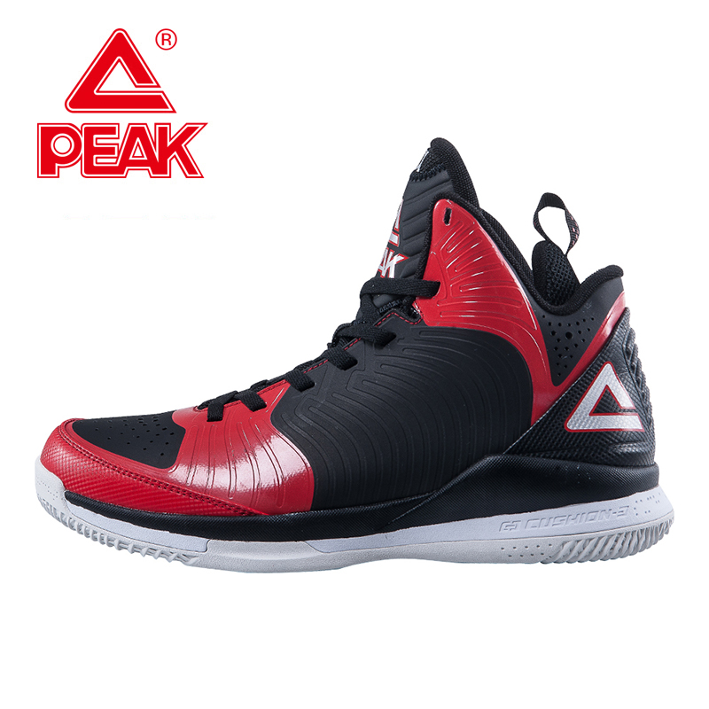 PEAK SPORT Star Models BATTIER IX New Men Basketball Shoes FOOTHOLD Cushion-3 Tech Competitions Sneakers Athletic Training Boots peak sport lightning ii men authent basketball shoes competitions athletic boots foothold cushion 3 tech sneakers eur 40 50