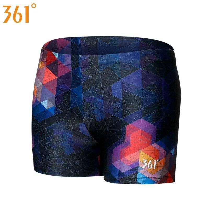 361 Men Swimwear Tight Swim Trunks Plus Size Quick Dry Pool Swimming Shorts Competition Swimsuit For Men Boys Swimwear Pants
