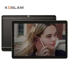 "KOSLAM Phablet Phone Call Tablets PC de 10.1 Pulgadas 4G LTE Android 6.0 MTK Quad Core 2 GB RAM 16 GB ROM 10.1 ""1920×1200 IPS de la Pantalla WIFI"