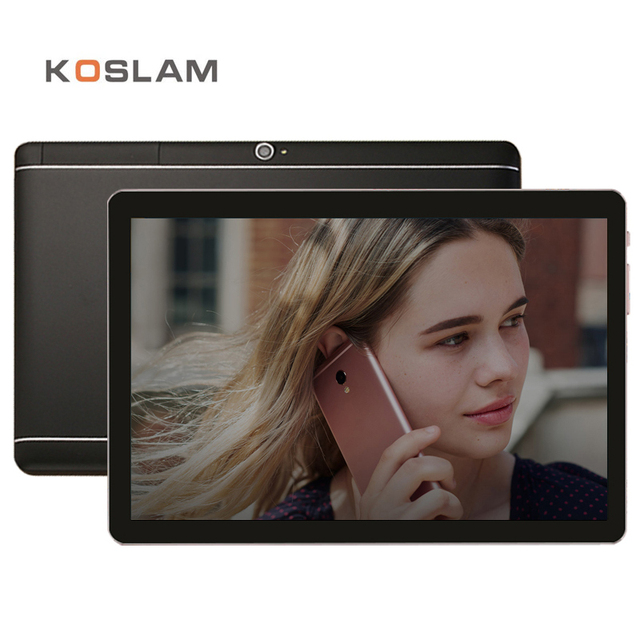 "Koslam 10.1 дюймов 4 г LTE телефон вызова Phablet Планшеты ПК Android 6.0 MTK Quad Core 2 ГБ Оперативная память 16 ГБ Встроенная память 10.1 ""1920x1200 IPS Экран WI-FI"