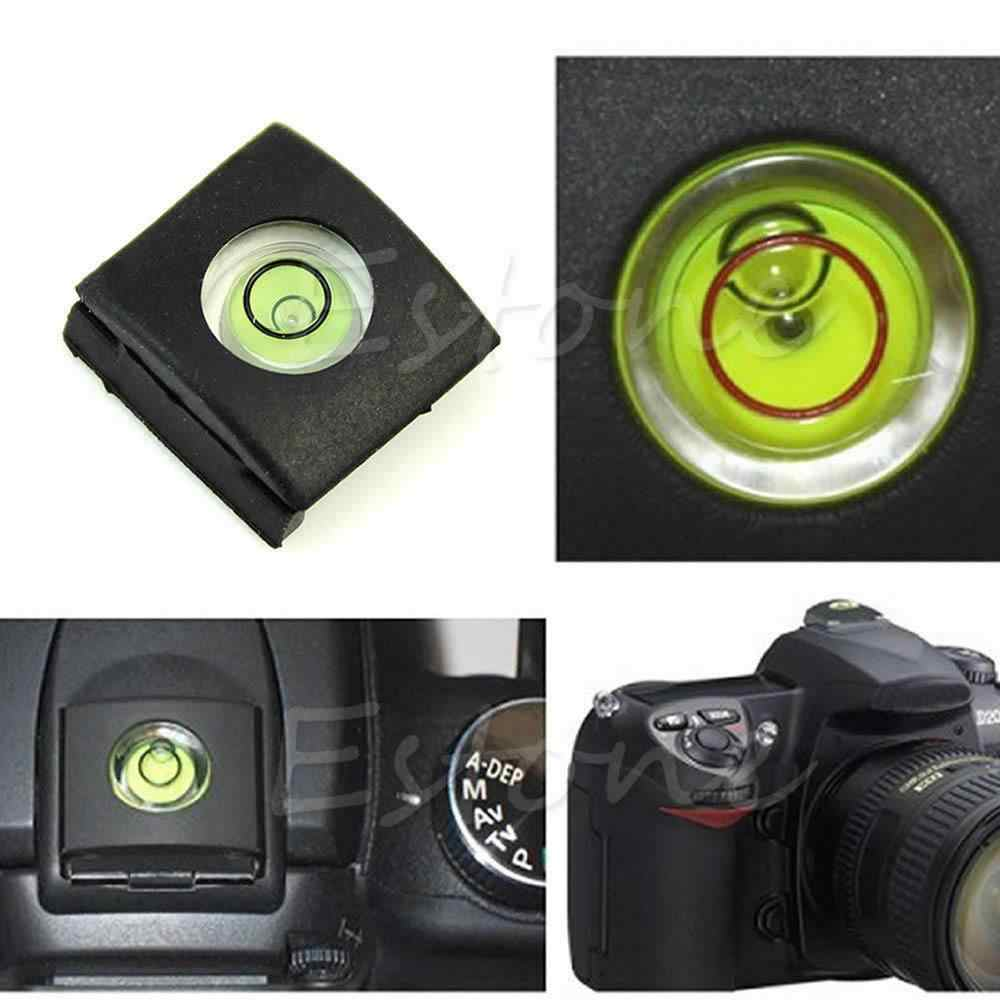 1 Pc Flash Hot Shoe cubierta tapa burbuja nivel de alcohol para Canon Olympus Camera-M43
