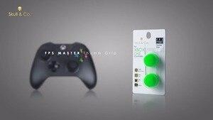 Image 4 - Silikonowe uchwyty analogowe Thumb Stick nakrętki na wentyle na kontroler do Xbox One Skull & Co. Osłona na palce FPS Master dla gamepada Xbox One