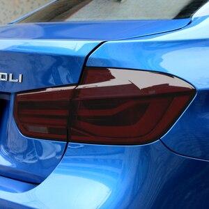 Image 2 - Car Tint Headlight Taillight Fog Light PVC Film for Subaru Forester Audi A3 Q5 Q7 A4 B6 B7 A5 A6 C5 C6 Opel Insignia Corsa d