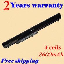 JIGU 740715-001 15-h000 15-S000 Laptop battery Batteries For HP 240 G2 CQ14 CQ15 OA04 HSTNN-PB5S HSTNN-LB5S black 2600MAH 14.4V