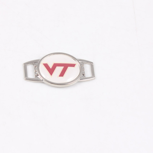 20pcs Shoelace Charms With Virginia Tech Hokies Stickers For Sport ...