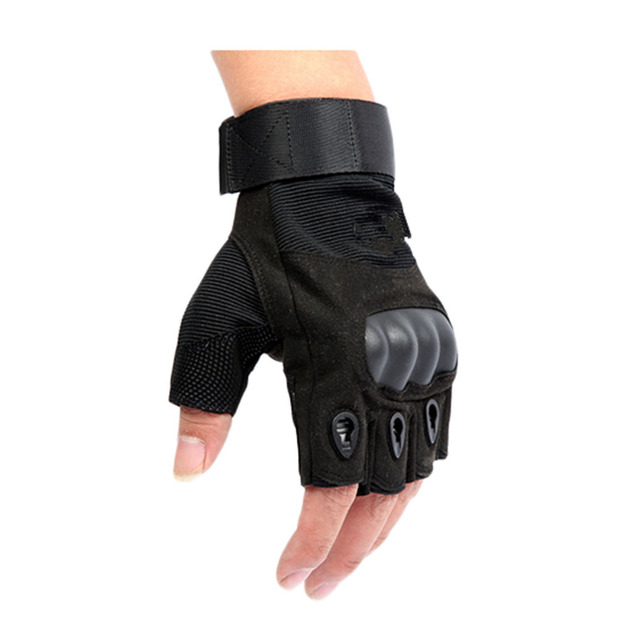 Tactical Fingerless Army Gloves