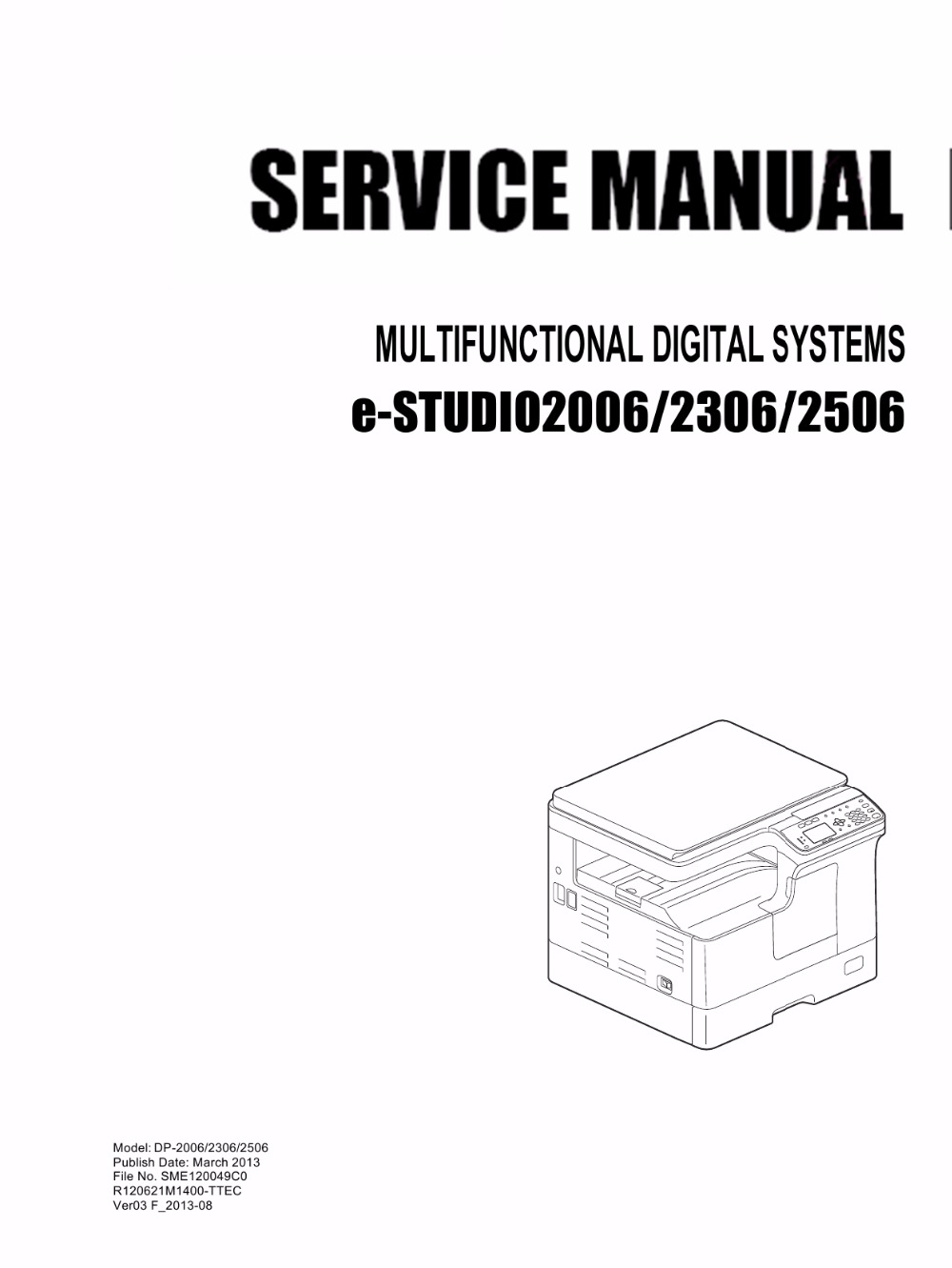 The service manual is in Chinese.